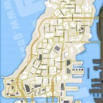 Carte vierge de GTA 4 - Liberty City - Alderney