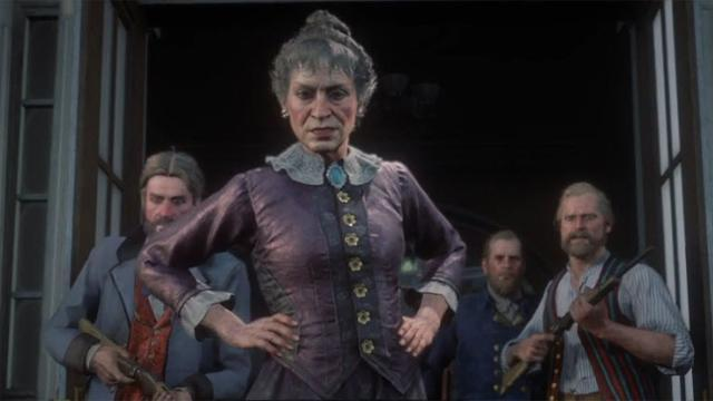 Catherine Braithwaite Red Dead Redemption 2 Characters