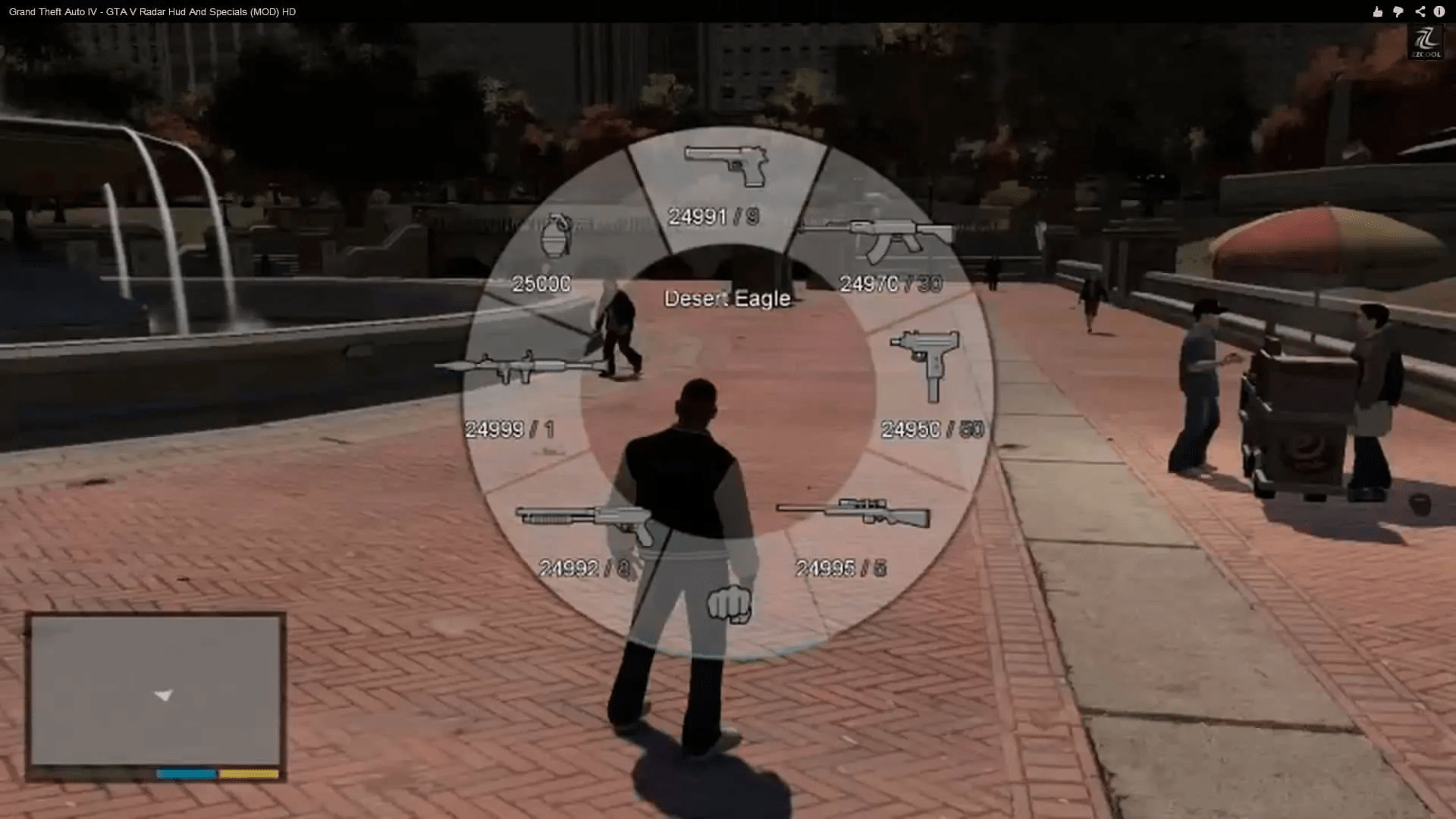 Mod Brings GTA V Radar And Specials To GTA IV GTA BOOM