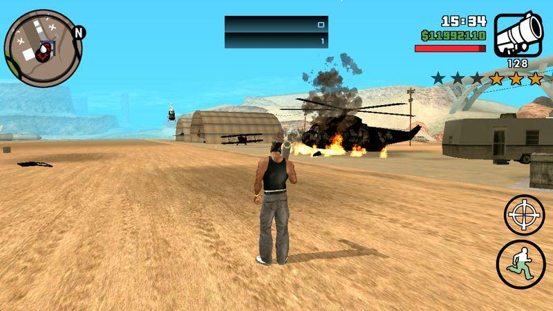 GTA San Andreas GTA V Original Effects For GTA SA Mobile