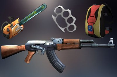 San Andreas INSANITY Weapons Itmes