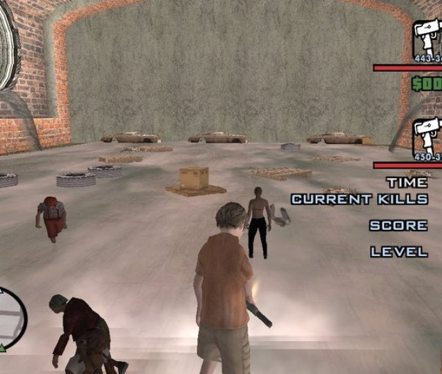 Zombie Terminator Horde Kill Up Guards In Liberty City
