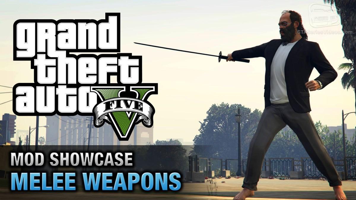 GTA 5 PC - Melee Weapons [Mod Showcase]
