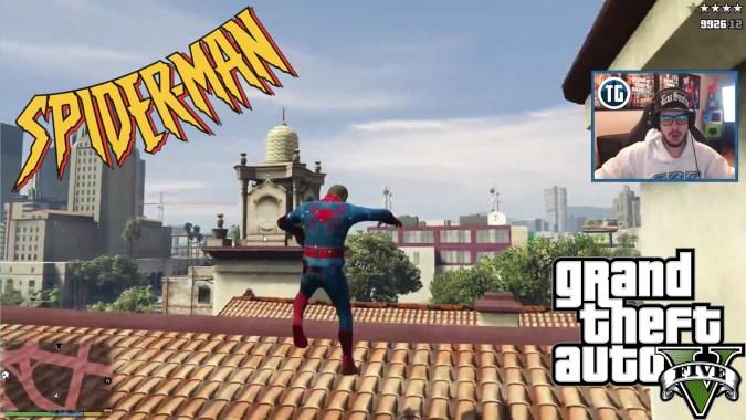 GTA 5 SPIDERMAN MOD (GTA 5 Funny Moments)