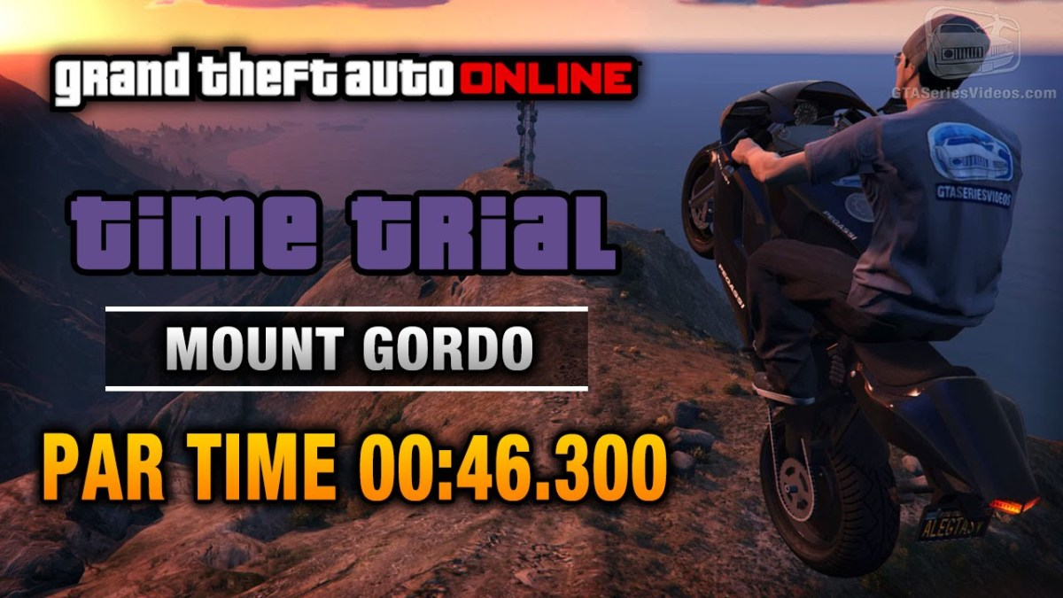 gta online time trial up chiliad