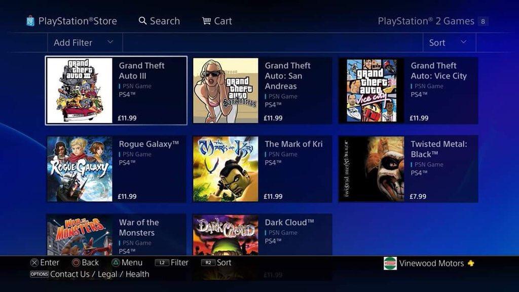 GTA3, GTAVC & GTASA out now (PS4) – GTA Junkies