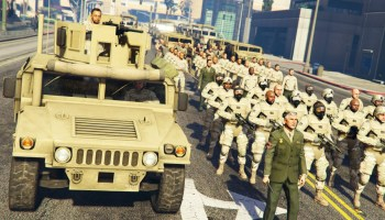 GTA 5 PLAY AS A COP MOD – MARTIAL LAW!! MILITARY TAKEOVER Army