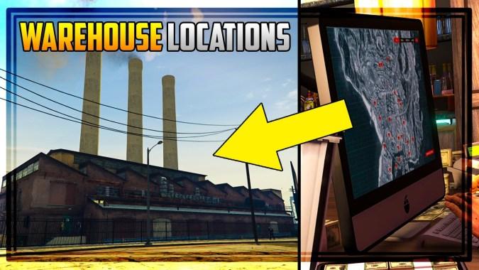 GTA 5 Finance & Felony DLC – ALL 20 WAREHOUSE LOCATIONS