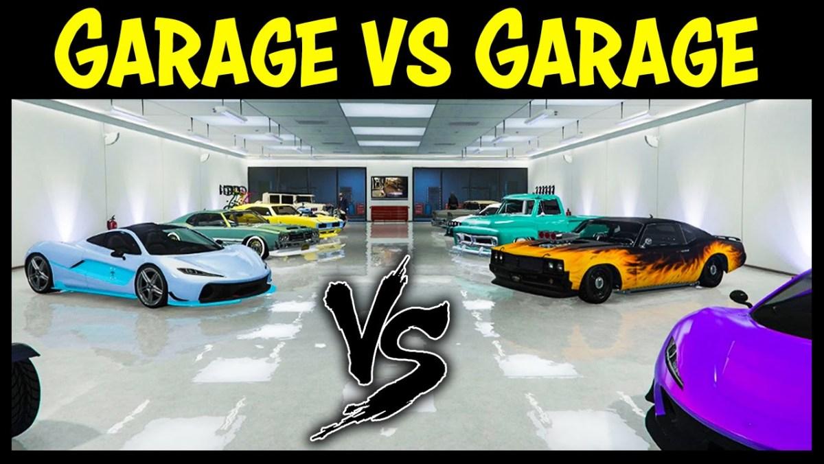 Gta 5 Online Garage Vs Garage Ep 19 Ps4 Edition Best Cars Competition Gta Junkies