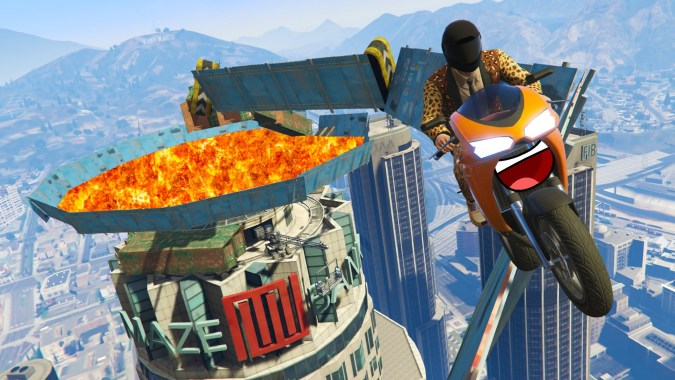 gta 5 wallride race download
