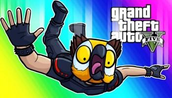 GTA5 Online Funny Moments – Target Assault Gamemode! – GTA