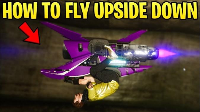 GTA Online: How to Fly UPSIDE DOWN on the Oppressor Mk2 (Easy Tutorial)