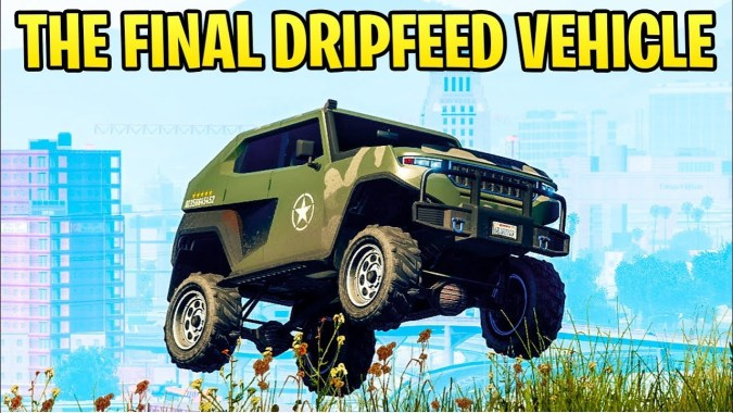 GTA Online: The FINAL NEW Dripfeed Vehicle Release Date - Will We See  Another DLC Before RDR2?