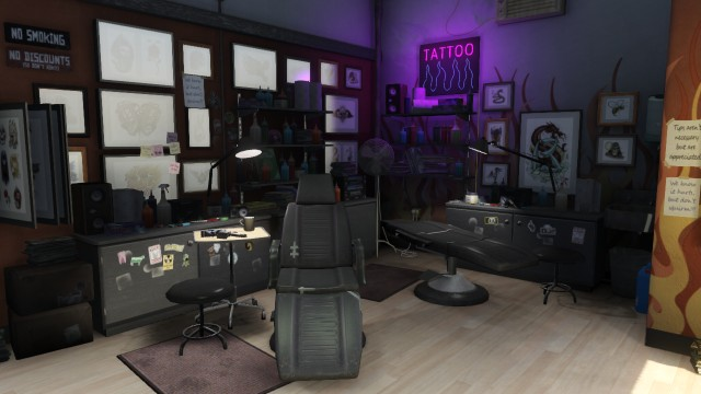 Salons De Tatouages De GTA V GTA Lgende