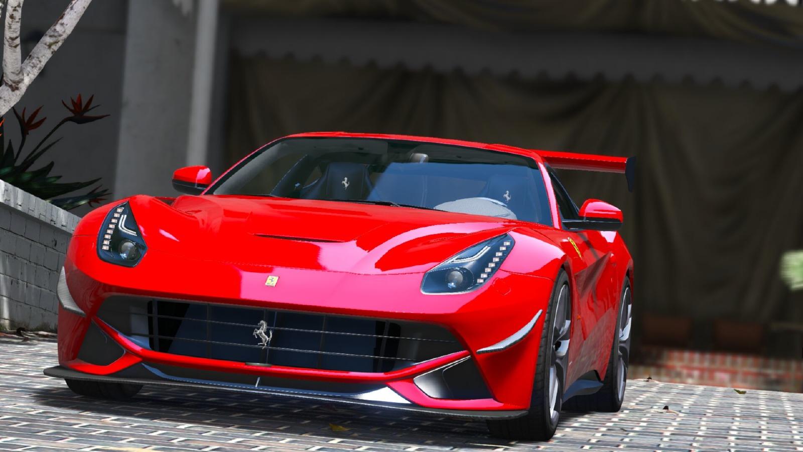 Ferrari F12 Berlinetta 2013 Vehicules Pour GTA V Sur GTA
