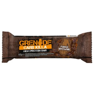 Grenade Carb Killa FUDGE BROWNIE. Low Carb, High Protein.