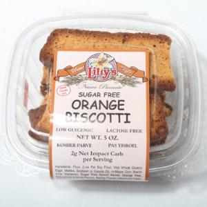 Lilly's Biscotti Orange
