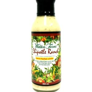 Walden Farms Salad Dressings - Chipotle Ranch 355ml. No Calories, fat, Carbs, gluten or sugars, Kosher