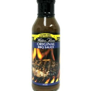 Walden Farms BBQ Sauce - Original BBQ Sauce 355ml. No Calories, fat, Carbs, gluten or sugars, Kosher
