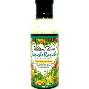 Walden Farms Salad Dressings - Ranch 355ml. No Calories, fat, Carbs, gluten or sugars, Kosher