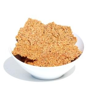 Foods Alive Flax Crackers Italian Zest 113g. High Fiber, Organic, NON GMO, Gluten-Free, Raw, Vegan
