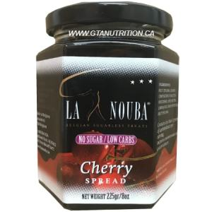 La Nouba Cherry Spread 225g. No added preservatives, Sugar, Color or additives.