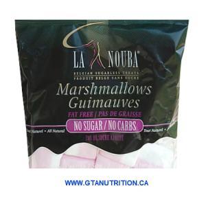 La Nouba Marshmallow Regular 75g. Sugar Free, Far Free and No Carb