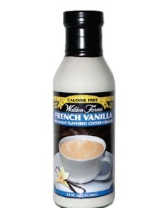 WaldenFarms - French Vanilla Creamer 355ml. No Calories, Sugar Free, Lactose Free, Gluten Free. Kosher