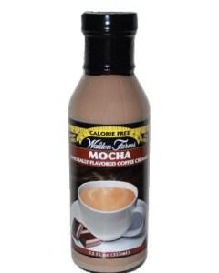 WaldenFarms - Mocha Creamer 355ml. No Calories, Sugar Free, Lactose Free, Gluten Free. Kosher