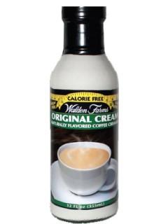 WaldenFarms - Original Cream 355ml. No Calories, Sugar Free, Lactose Free, Gluten Free. Kosher