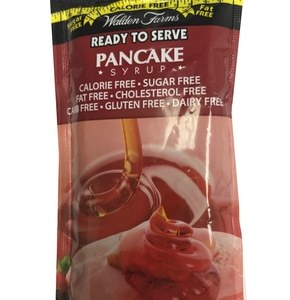 WaldenFarms - Pancake Syrup Single Serve Packets 1oz. No Calories, fat, Carbs, gluten or sugars