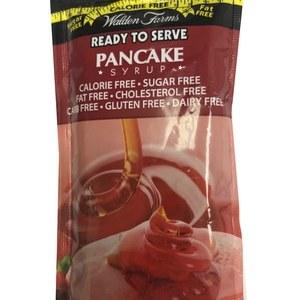 WaldenFarms - Pancake Syrup Single Serve Packets 1oz. No Calories, fat, Carbs, gluten or sugars