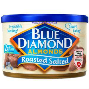 Blue Diamond Almond Roasted Salted 170g