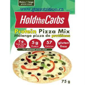 Hold the Carbs Low Carb Protein Pizza Mix small bag 75g | Low Carb, Gluten Free