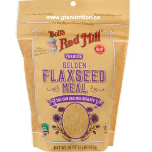 Bob's Red Mill Organic Golden Flaxseed Meal 2lbs. Gluten Free, NON GMO, Kosher
