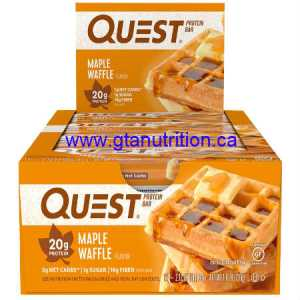 Quest Bar - Maple Waffle Protein Bar. Low Carb, High Fiber, High Protein, Gluten Free
