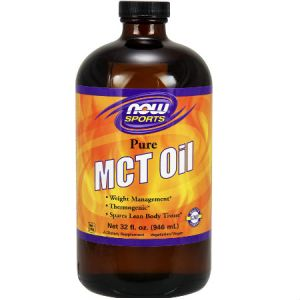 Now Foods Sports MCT Oil 100% Pure 946ml. Weight Management, Thermogenic, Supports a Healthy Body Composition, Best for Keto Bulletproof Coffee