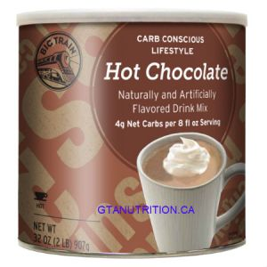 Big Train Low Carb Hot Chocolate Mix 2LB. Low Carb, No Added Sugar, Diabetic Friendly, Kosher.