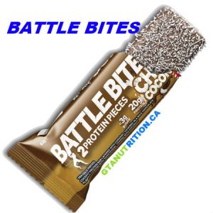 Battle Bites Protein Bar Chocolate Coconut 62g | Low In Sugar 1.5g per bits, GMO FREE, No Hydrogenated Oil, Tastiest Low Carb Protein Bar In The Market - Made In Britain