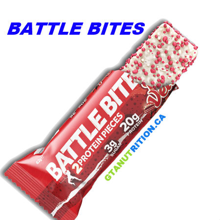 Battle Bites Protein Bar Red Velvet 62g | Low In Sugar 1.5g per bits, GMO FREE, No Hydrogenated Oil, Tastiest Low Carb Protein Bar In The Market - Made In Britain