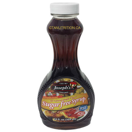 Joseph's All Natural Maple Flavor Sugar Free Syrup 12oz. Give your desserts that guilt-free sweetness with Joseph's Sugar Free Maple Syrup. Kosher