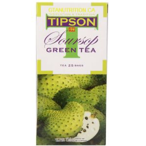 Tipson Soursop Green Tea 25 Tea Bags. Herbal Tea