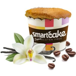 Smart Baking Company Smartcake Vanilla Latte 60g | Zero Carbs, Gluten Free, Low Calorie, Keto Friendly, Diabetic Friendly,  NON GMO
