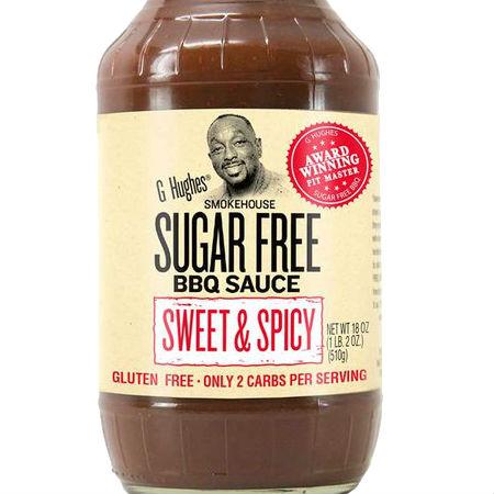 G Hughes Sugar Free BBQ Sauce Sweet & Spicy