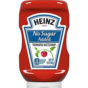 Heinz Tomato Ketchup l No Sugar Added Low Calorie, Diabetic friendly, Low carb, Full rich taste, Sweetened only red ripe tomatoes