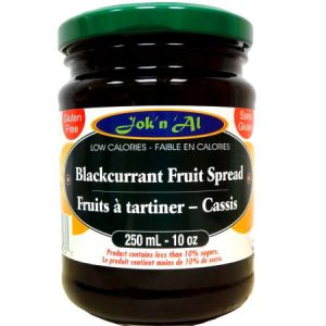Jok-N-Al Fruit Spread BlackCurrant l Gluten Free