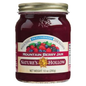 Nature's Hollow Sugar Free Moutain Berry Jam 10oz