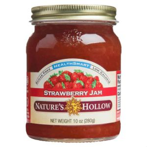 Nature's Hollow Sugar Free Strawberry Jam 10oz