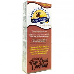 It's an all natural, sugar-free, easy ice cream mix! No ice cream maker required;