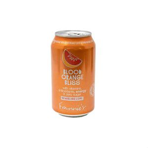 Frannie's Sparkling Beverage Blood Orange Calorie and Sugar free 355ml